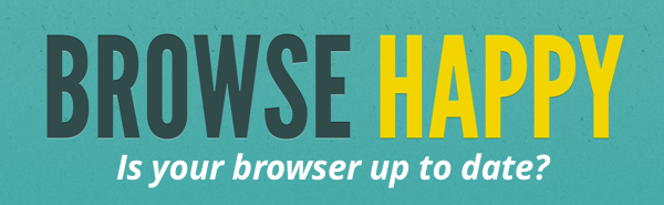 is your browser up to date